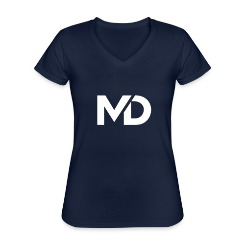 MD Clothing Official© - T-shirt classique col V Femme