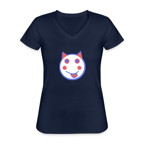 Red White And Blue - Alf Da Cat - Classic Women's V-Neck T-Shirt