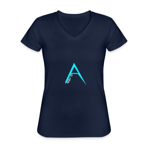 ANGISTEF SQUAD LOGO - Klassisk T-shirt med V-ringning dam