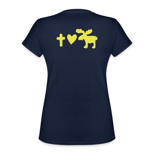 Glaube, Liebe, Elch! - Klassisches Frauen-T-Shirt mit V-Ausschnitt