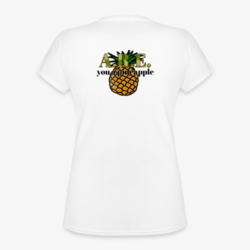 Are you a pineapple - Classic Women's V-Neck T-Shirt