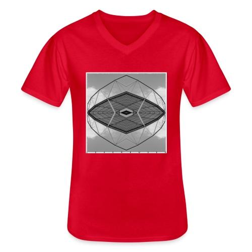 Leverkusen #4 - Klassisches Männer-T-Shirt mit V-Ausschnitt