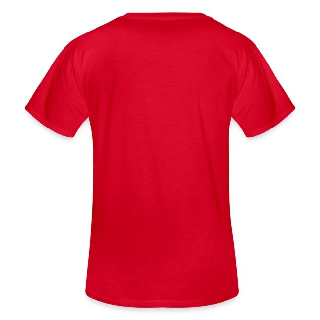 Vorschau: Der mit der Katze spricht - Klassisches Männer-T-Shirt mit V-Ausschnitt