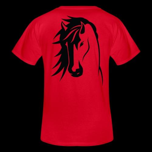 Stallion - Men's V-Neck T-Shirt