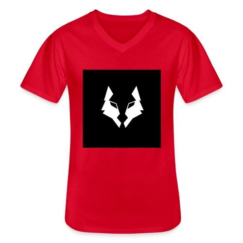 La Meute Big Logo - T-shirt classique col V Homme