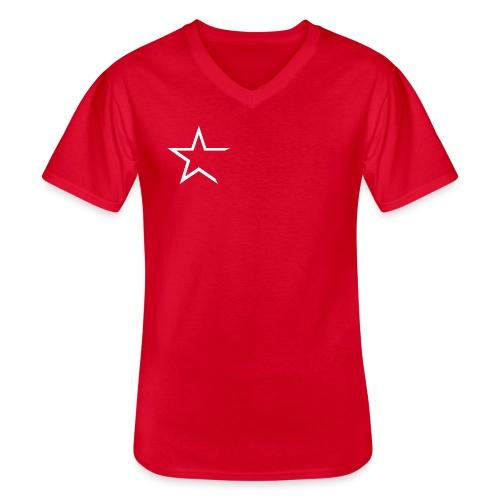 Team Kleding - Klassiek mannen T-shirt met V-hals