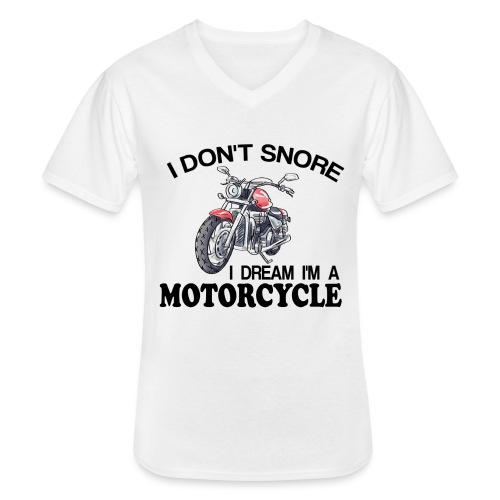 I DON´T SNORE - Camiseta clásica con cuello de pico hombre