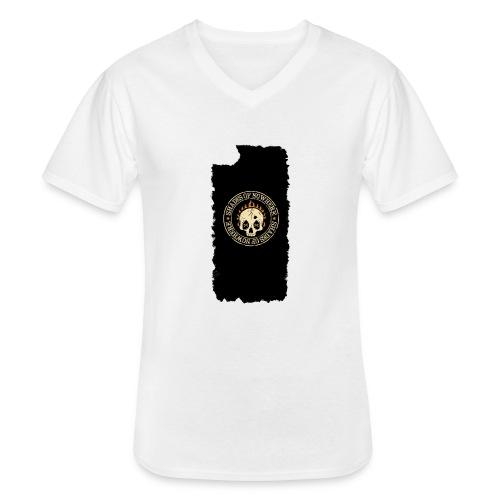 iphonekuoret2 - Klassinen miesten t-paita v-pääntiellä