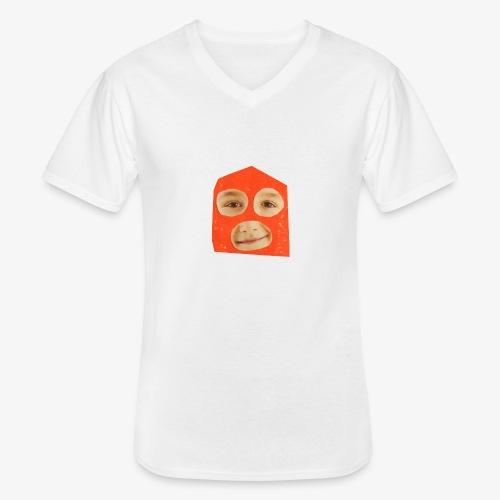 Abul Fissa - T-shirt classique col V Homme