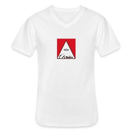 theodoo 1 - Klassisk T-shirt med V-ringning herr