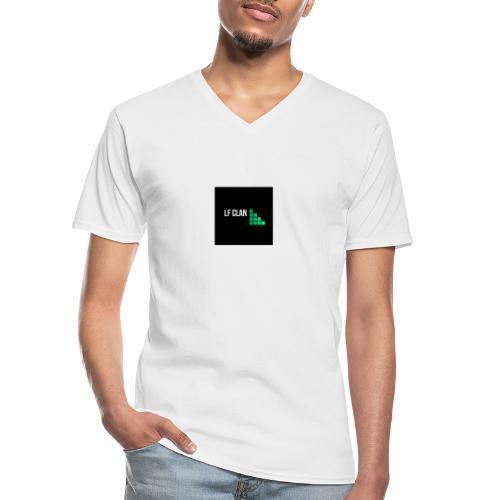 LF CLAN - Klassisk T-shirt med V-ringning herr