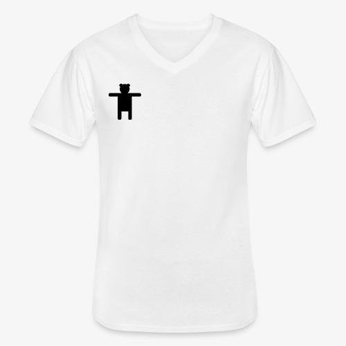 Epic Ippis Entertainment logo desing, black. - Men's V-Neck T-Shirt