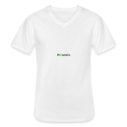 pcgamers-png - Maglietta da uomo classica con scollo a V