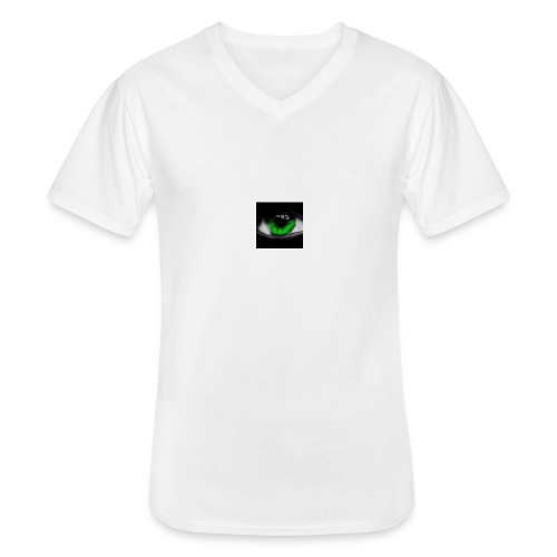 Green eye - Men's V-Neck T-Shirt