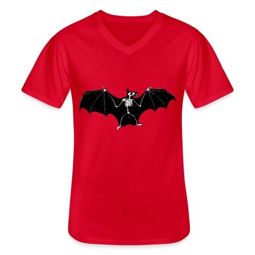 Bat skeleton #1 - Men's V-Neck T-Shirt