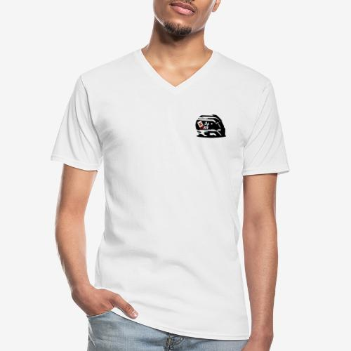 helmet racing joking club style by D[M] - T-shirt classique col V Homme