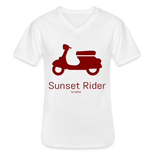 Sunset Rider - Men's V-Neck T-Shirt