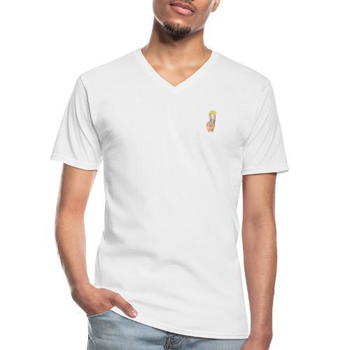 TEQUILA SHOT - Klassisches Männer-T-Shirt mit V-Ausschnitt