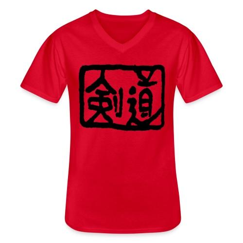 Kendo - Men's V-Neck T-Shirt