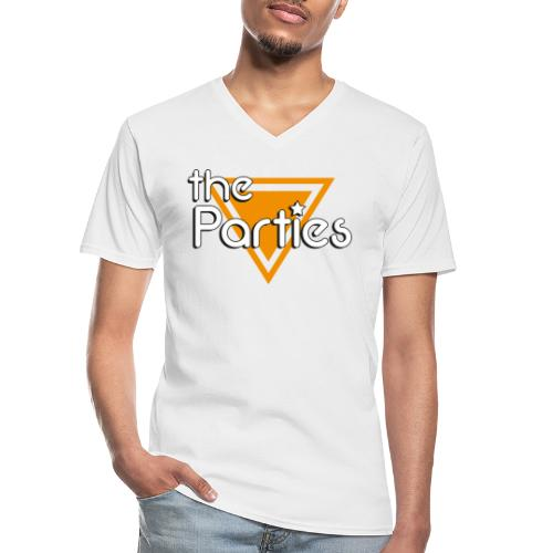 The Parties Logo - Men's V-Neck T-Shirt