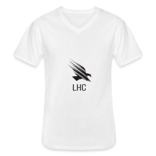 LHC Dark Logo - Men's V-Neck T-Shirt