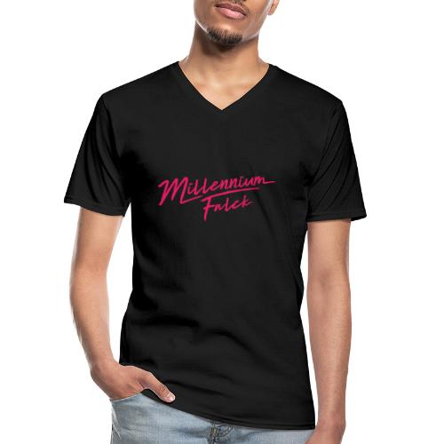 Millennium Falck - 2080's collection - Men's V-Neck T-Shirt