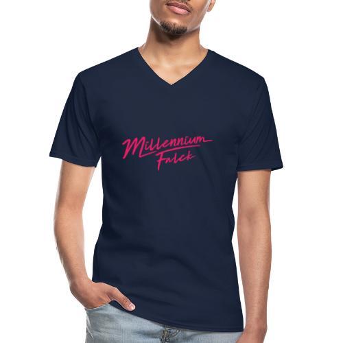 Millennium Falck - 2080's collection - Men's V-Neck T-Shirt