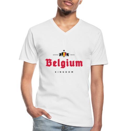 Bierre Belgique - Belgium - Belgie - T-shirt classique col V Homme