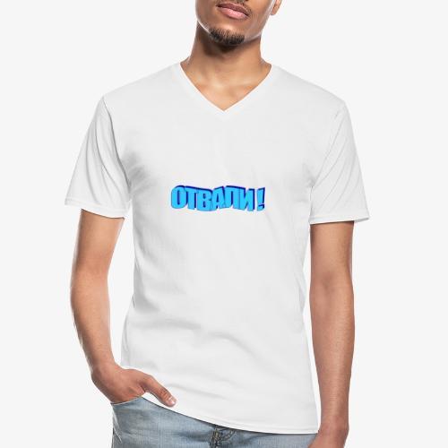 Verpiss Dich 1.0 - Klassisches Männer-T-Shirt mit V-Ausschnitt