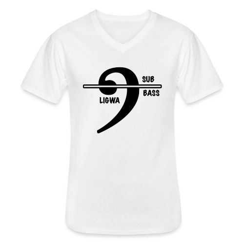 LIGWA SUB BASS - Men's V-Neck T-Shirt