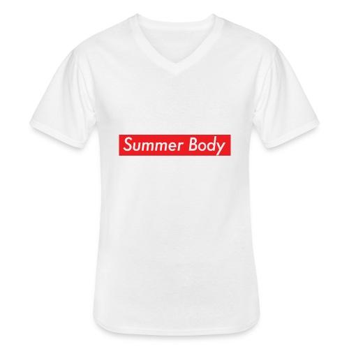 Summer Body - T-shirt classique col V Homme