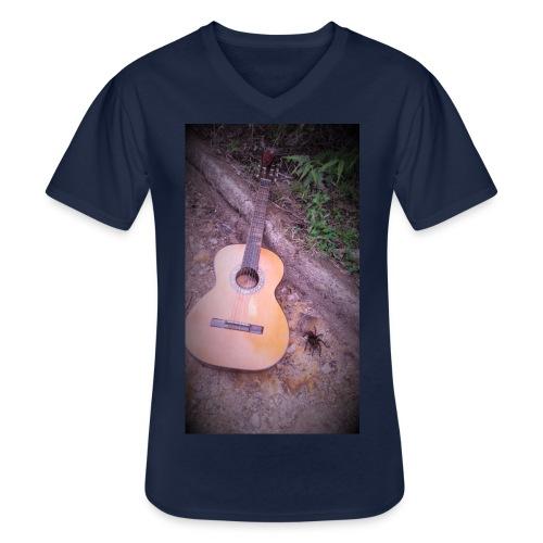 EsenciaTarantula - Camiseta clásica con cuello de pico hombre