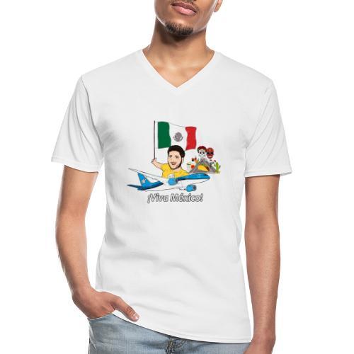 ¡Viva México! - Viaja con Yoel - Camiseta clásica con cuello de pico hombre