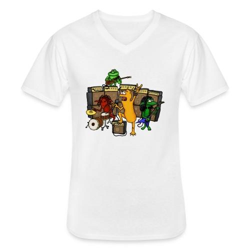 Kobold Metal Band - Men's V-Neck T-Shirt