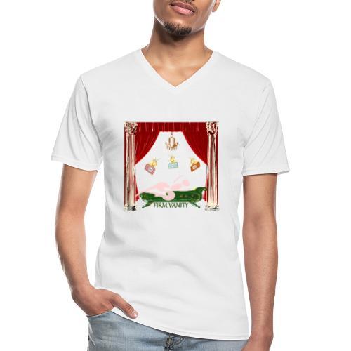 Vanity Firm Cipotescü - Camiseta clásica con cuello de pico hombre