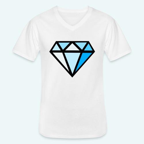 FCTimantti logo ilman tekstia - Klassinen miesten t-paita v-pääntiellä