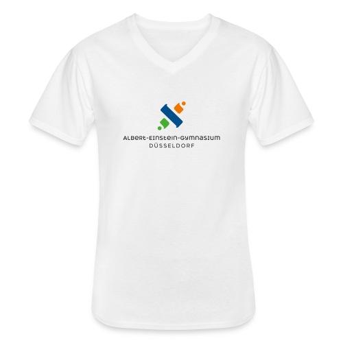 png bild - Klassisches Männer-T-Shirt mit V-Ausschnitt