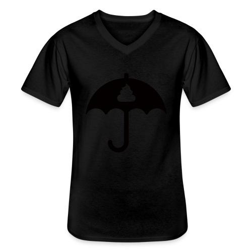 Shit icon Black png - Men's V-Neck T-Shirt