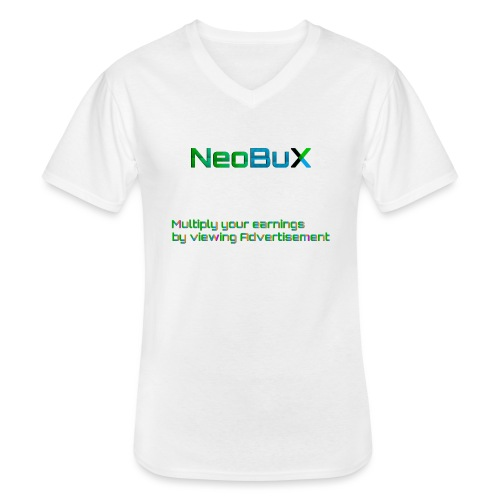 NeoBuX AD - Men's V-Neck T-Shirt