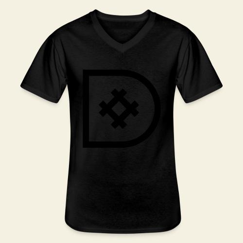Icona de #ildazioètratto - Maglietta da uomo classica con scollo a V