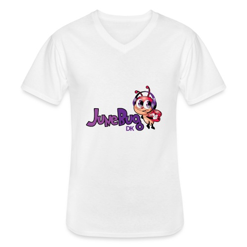 JuneBugDK - Klassisk herre T-shirt med V-udskæring