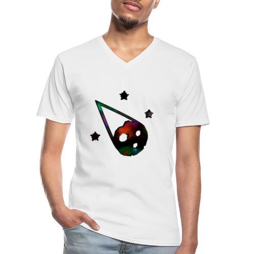 logo interestelar - Camiseta clásica con cuello de pico hombre