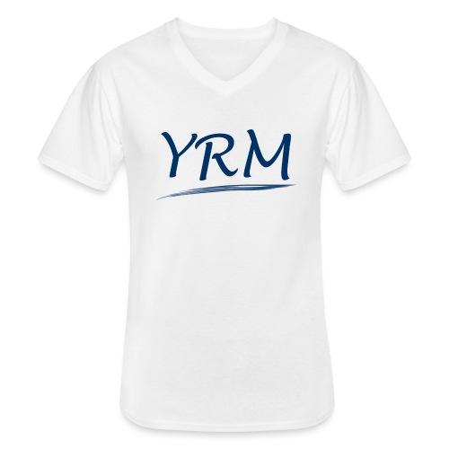YRMSchriftzug - Klassisches Männer-T-Shirt mit V-Ausschnitt
