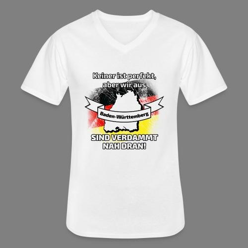 Perfekt Baden-Württemberg - Klassisches Männer-T-Shirt mit V-Ausschnitt