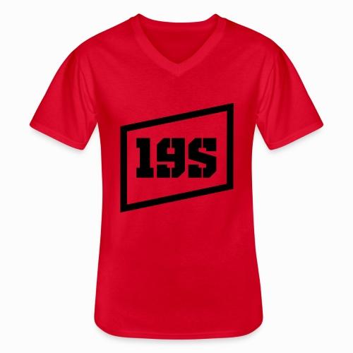 19series Logo - Klassisches Männer-T-Shirt mit V-Ausschnitt