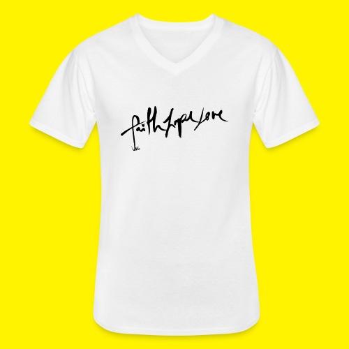 Faith Hope Love - Men's V-Neck T-Shirt