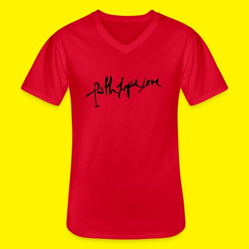 Faith Hope Love - Men's V-Neck T-Shirt