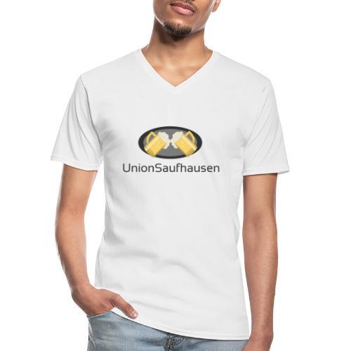 UnionSuffhausenMerch - Klassisches Männer-T-Shirt mit V-Ausschnitt