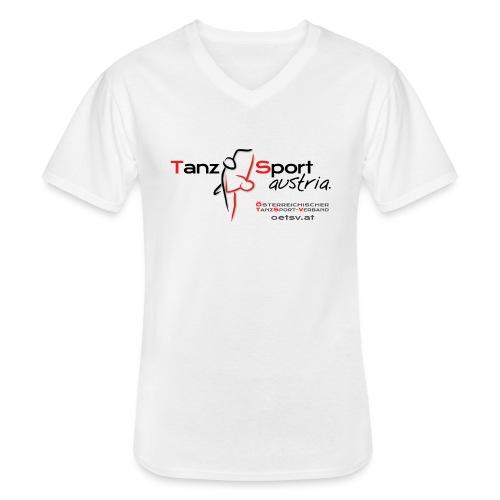 Logo OTSV V1 Austria gif - Klassisches Männer-T-Shirt mit V-Ausschnitt