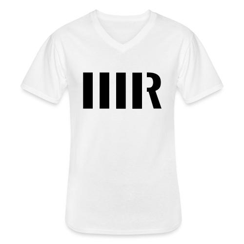 MARIUSRENZLOGO ohneName k - Klassisches Männer-T-Shirt mit V-Ausschnitt